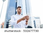 people   technology and... | Shutterstock . vector #532677730