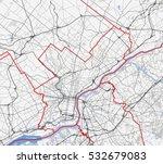 map philadelphia city....   Shutterstock .eps vector #532679083