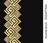 vector geometric frame in greek ...   Shutterstock .eps vector #532697464