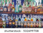 editorial use only  bottles of... | Shutterstock . vector #532699708