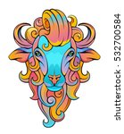 ram head | Shutterstock .eps vector #532700584