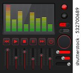 sound equalizer with slider and ...