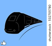 train icon  vector illustration ...