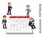 company business team planning... | Shutterstock .eps vector #532706038