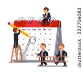 company business team working... | Shutterstock .eps vector #532706083