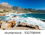 the coastal line of camps bay... | Shutterstock . vector #532708444