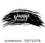 black ink vector brush strokes... | Shutterstock .eps vector #532712578