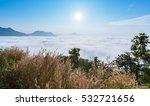 Sea Of Fog Over Phu Thok...