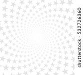 twisted stars spiral. white  ...   Shutterstock .eps vector #532726360