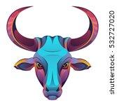 bull head | Shutterstock .eps vector #532727020