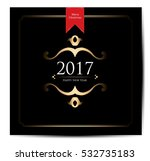 happy new year.2017 | Shutterstock .eps vector #532735183