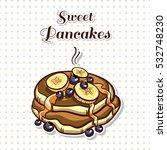 hand drawn sticker. cartoon...   Shutterstock .eps vector #532748230