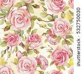 elegance wallpaper with of pink ... | Shutterstock .eps vector #532750030