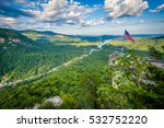 View Of Chimney Rock And Lake...