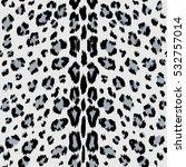 leopard seamless pattern.  | Shutterstock .eps vector #532757014