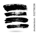 black grungy vector abstract... | Shutterstock .eps vector #532758238