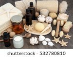 natural spa and aromatherapy...   Shutterstock . vector #532780810