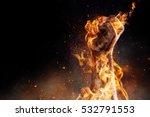 power in hands | Shutterstock . vector #532791553
