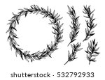hand drawn vector illustration. ...   Shutterstock .eps vector #532792933