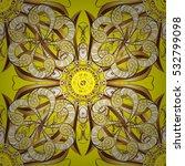 seamless vintage pattern on...   Shutterstock .eps vector #532799098