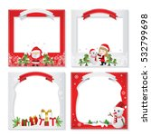 set of a beatiful christmas... | Shutterstock .eps vector #532799698