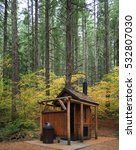 A Stylish Outhouse In The...