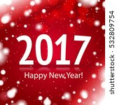 2017 happy new year sign | Shutterstock .eps vector #532809754