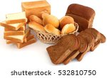 various bread  | Shutterstock . vector #532810750