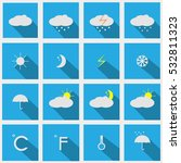 weather icons.forecast | Shutterstock .eps vector #532811323