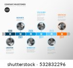 vector infographic company... | Shutterstock .eps vector #532832296
