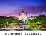 new orleans  louisiana at...   Shutterstock . vector #532836880