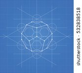 dodecahedron  a vector... | Shutterstock .eps vector #532838518