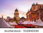 berlin  christmas market ...   Shutterstock . vector #532840330