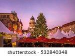 berlin  christmas market ...   Shutterstock . vector #532840348