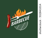 barbecue logo  vector | Shutterstock .eps vector #532841014