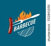 barbecue logo  vector   Shutterstock .eps vector #532841050