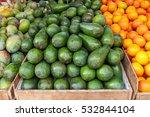 organic avocado in the oriental ... | Shutterstock . vector #532844104