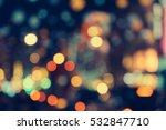 abstract christmas lights. | Shutterstock . vector #532847710