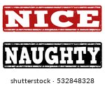 Naughty And Nice Grunge Rubber...