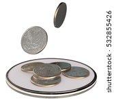 3d quarters   Shutterstock . vector #532855426