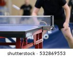 table with net for table tennis   Shutterstock . vector #532869553