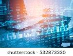 economy stock market exchange...