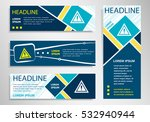 attention caution sign  on...   Shutterstock .eps vector #532940944