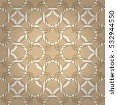 nude light beige decorative... | Shutterstock .eps vector #532944550