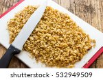 kernels walnuts peeled and...   Shutterstock . vector #532949509