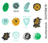 vector set of labels for... | Shutterstock .eps vector #532958878