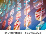 detail shot of patterned wall... | Shutterstock . vector #532961026