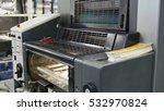 machine working in printing...   Shutterstock . vector #532970824