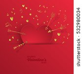 valentine's day abstract modern ...   Shutterstock .eps vector #532980034