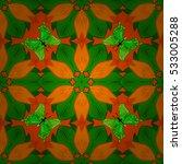 petals flowers background.... | Shutterstock .eps vector #533005288